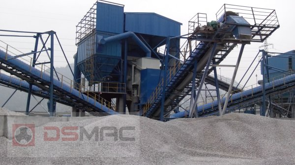 800T/h Granite Crushing Production Line exported to Russia