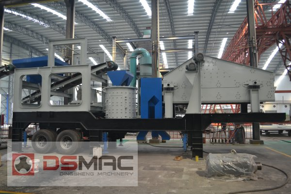 dsmac 40000 tpd aggregate production line