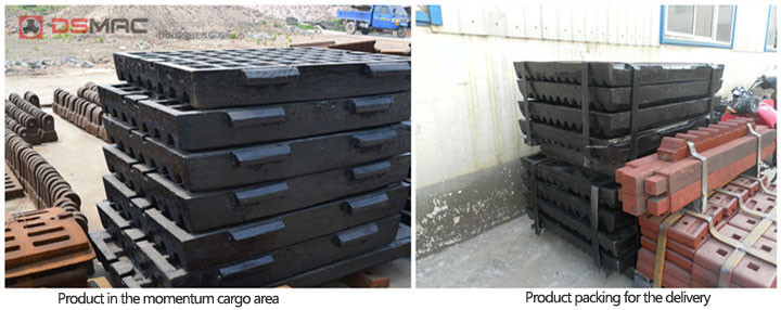 jaw crusher spare parts packing for delivery