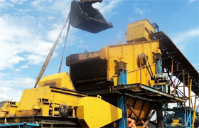 Gold ore Crushing Line